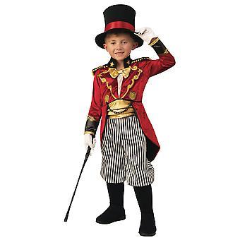 Ringmaster Ringleader Circus Performer Showman Magician Boek Week Boys Kostuum