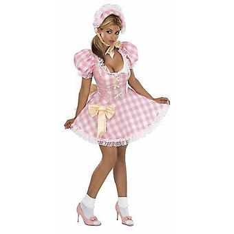 Bristol Nyhet Womens / Ladies Secret Wishes Sexy Bo Peep Kostym
