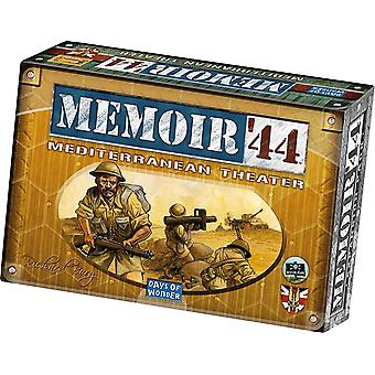 Memoir 44 Mediterranean Theatre Board Game