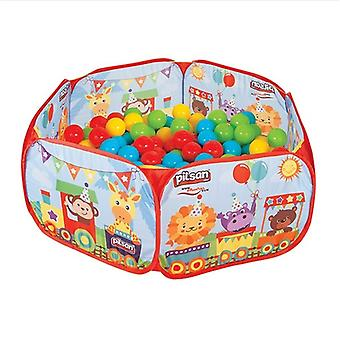 Pilsan ball pool, ball pool 06413 with 200 balls 6 cm diameter, protective edge