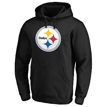 פיטסבורג סטילרס NFL אוהד הודיה לוגו איקוני שחור