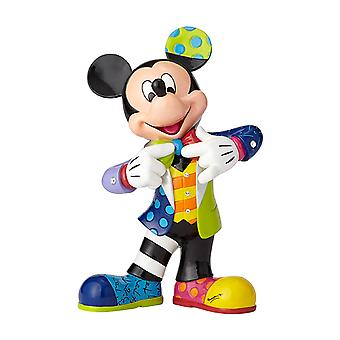 Britto Disney Mickey Mouse Large 90th Anniversary Figurine