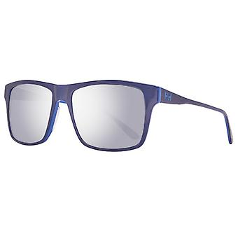 Men's Sunglasses Helly Hansen HH5023-C02-56 Blue (ø 56 mm)