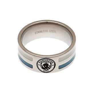 Manchester City kleur Stripe Ring klein