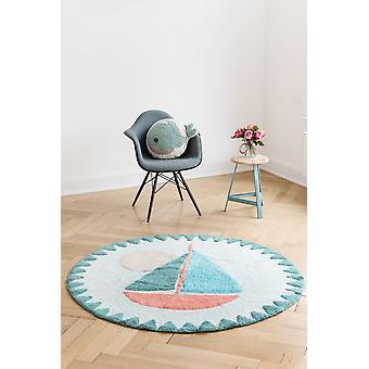Round carpet baby boat Boat diameter 150cm