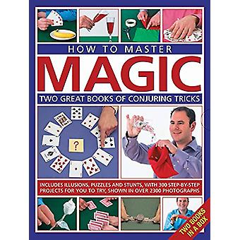 How to Master Magic - Two great books of conjuring tricks - includes il