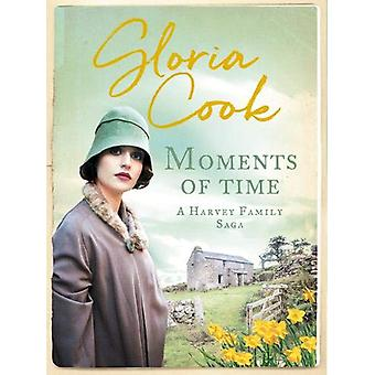 Moments of Time by Gloria Cook - 9781788631341 Book
