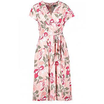 Taifun Floral Print Wrap Effect Dress