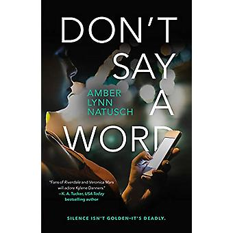 Don'T Say a Word by Amber Lynn Natusch - 9780765397713 Book