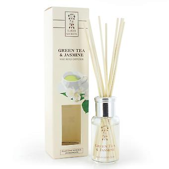 Ashleigh e Burwood Earth Secrets Home Fragrance Collections Reed Difusors 50ml Green Tea & Jasmine