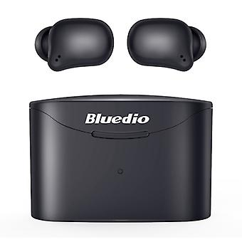 Bluedio T-2 Eleven Wireless Earpieces TWS Touch Control Bluetooth 5.0 Wireless Pods Air Earphones Earbuds Black