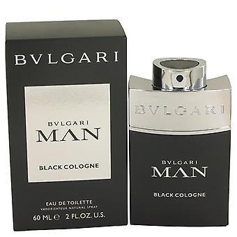 Bvlgari homem negro colônia Eau De Toilette Spray por Bvlgari 2 oz Eau De Toilette Spray