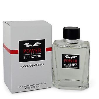 Power Of Seduction Eau De Toilette Spray By Antonio Banderas 6.7 oz Eau De Toilette Spray