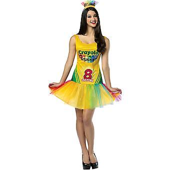 Crayola Box tonåring kostym