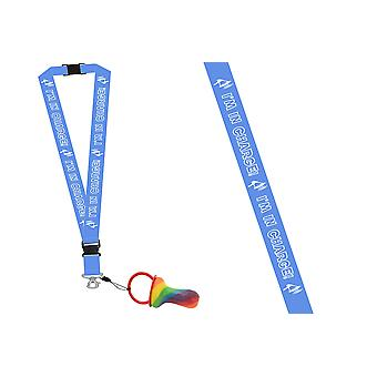 Pack of 6 Rock Dummy With Lanyard - I'm In Charge
