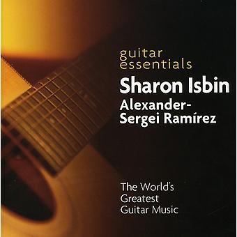 Sharon Isbin & Alexander-Sergei Ramirez - Guitar Essentials: The World's Greatest Guitar Music [CD] USA import