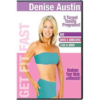 Denise Austin - saada sovi nopeasti [DVD] USA tuonti