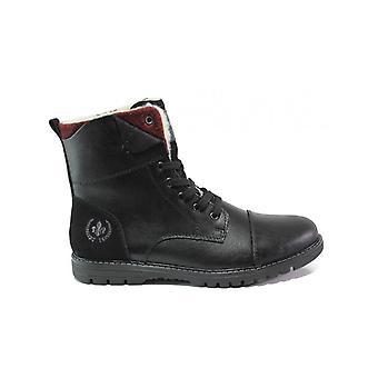 Rieker nobel virage filz ambor zwarte laarzen mens zwart 001