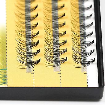 60pcs Professional Makeup Individual Cluster Eyelashes Grafting Fake False
