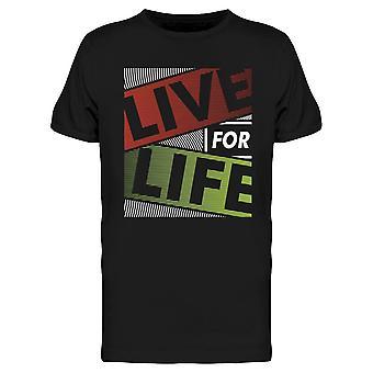 Live For Life Tee Men's -Imagen de Shutterstock