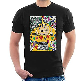 Teletubbies Laa Laa Hearts Men's T-Shirt