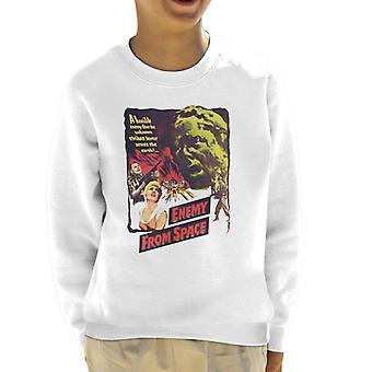 Hammer Horror Films Quatermass 2 Enemy From Space Kid's Sweatshirt