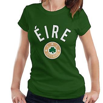 Toff Vintage Football Eire Ireland Women's T-Shirt