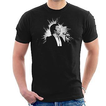 TV tider sångaren Tom Jones utför 1984 mäns T-Shirt