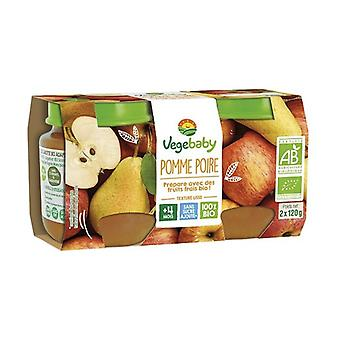 Baby Pots Apple Pear 4 Months 240 g