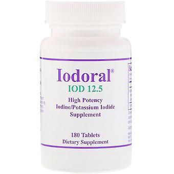 Optimox, Iodoral, High Potency, 180 Tablets
