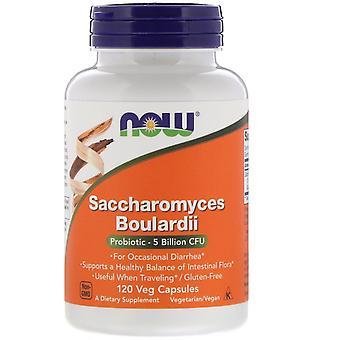 Ora Alimenti, Saccharomyces Boulardii, 5 miliardi di CFU, 120 Veg Capsule