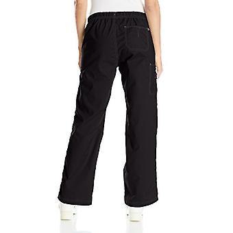 WonderWink Women's Wonderflex Faith Scrub Pant, Black, X-Large