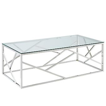 Eloise Coffee Table - Silver