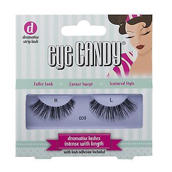Eye Candy 50's Style False Eyelashes - 009 - Medium Wearable Volume Lashes