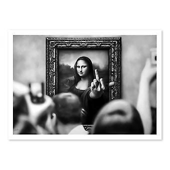 Art-Poster - Mona Fed up - Alexandre Granger 50 x 70 cm