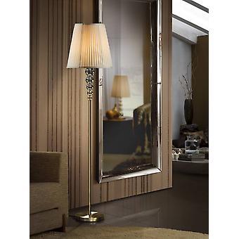 Schuller Mercury - Crystal Floor Lamp Champagne, E27