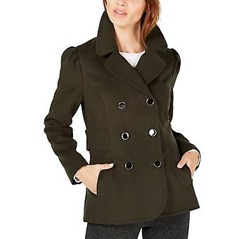 Maison Jules | Double-Breasted Peacoat