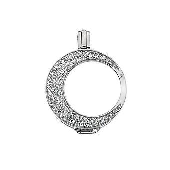 Emozioni Mezzaluna Sterling Silver Coin Keeper EK011