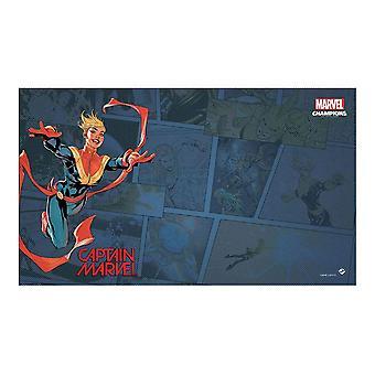 Marvel Captain Marvel Game Mat