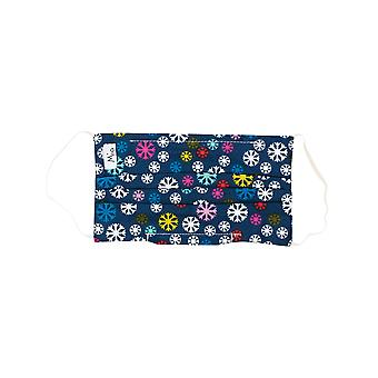 Mio Snow Much Fun Cotton Christmas Face Mask