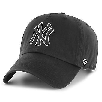 47 fire Adjustable Cap - CLEAN UP New York Yankees black