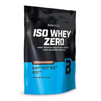 BiotechUSA Iso Whey Zero Vanilla Cinnamon roll 500 gr