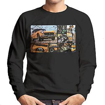 Austin Healey Sprite Mark IV Montage British Motor Heritage Men's Sweatshirt