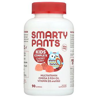 SmartyPants Kids Complete Cherry Berry Multivitamins, 90 Count