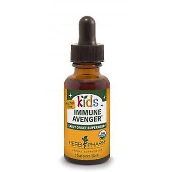 Herb Pharm Kids Immune Avenger, Alcohol Free, 1 Oz