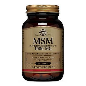 Solgar MSM 1000 mg, 60 Tabs