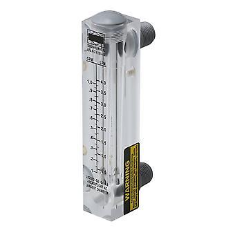 LZM-15 0.2-1GPM 1-4LPM Panel Type Water Flowmeter Measurement Tool
