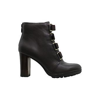 Adrienne Vittadini Mujer's Zapatos Theresa cuero almendra toe tobillo botas de moda