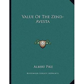 Valor del Zend-Avesta