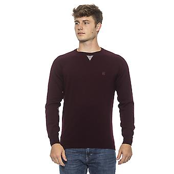 Conte of Florence Wine Sweater